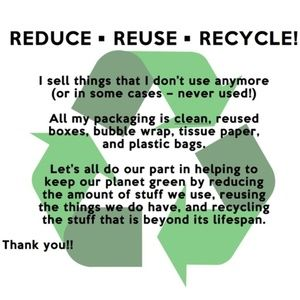Handbags - REDUCE • REUSE • RECYCLE!